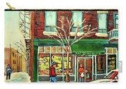 St Viateur Bagel Shop Montreal Carry-all Pouch