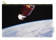 Stabilizing Spacecraft Carry-all Pouch