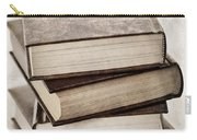 Stack Of Books Carry-all Pouch by Elena Elisseeva