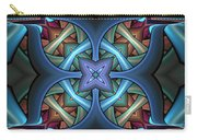 Stacked Kaleidoscope Carry-all Pouch