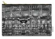 Stadium Black And White Carry-all Pouch