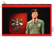 Staff Sergeant Barry Sadler Singing On National Tv - Ed Sullivan Show 1966-2016 Carry-all Pouch