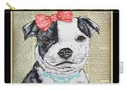 Staffordshire Terrier-jp3857 Carry-all Pouch
