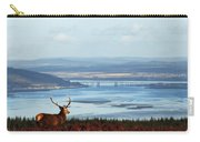 Stag Overlooking The Beauly Firth And Inverness Carry-all Pouch