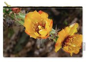Staghorn Cactus Blossons Carry-all Pouch