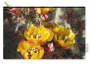 Staghorn Cholla Blossoms Carry-all Pouch