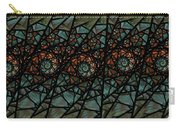 Stained Glass Floral I Carry-all Pouch