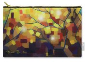 Stained Glass Forest Carry-all Pouch