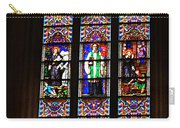 Stained Glass Glory Of St Patricks Carry-all Pouch