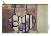 Stained Glass Heart Carry-all Pouch