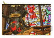 Stained Glass Lantern And Window Carry-all Pouch