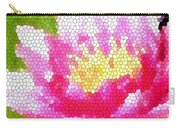 Stained Glass Waterlily Carry-all Pouch