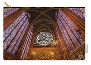 Windows Of Saint Chapelle Carry-all Pouch