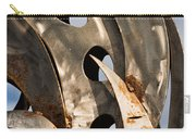 Stainless Abstract II Carry-all Pouch