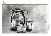 Stainless Steel Still Life Painting Carry-all Pouch