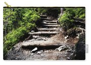 Stair Stone Walkway In The Forest Carry-all Pouch