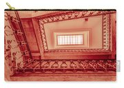 Staircase In Red Carry-all Pouch