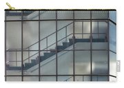Stairs Behind Glass Carry-all Pouch