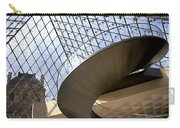 Stairs In Louvre Museum. Paris.  Carry-all Pouch