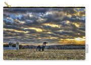 Stairways To Heaven Winter Sunrise The Iron Horse Art Carry-all Pouch