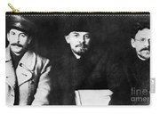 Stalin, Lenin & Trotsky Carry-all Pouch