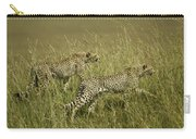 Stalking Cheetahs Carry-all Pouch
