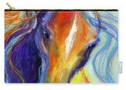 Stallion Horse Painting Carry-all Pouch
