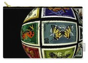 Butterfly Postage Stamp Art Print Carry-all Pouch
