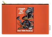 Stamp Em Out - Beat Your Promise Carry-all Pouch