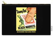 Stamp Out Black Markets Carry-all Pouch