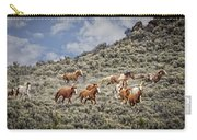 Stampede In The Sage Carry-all Pouch