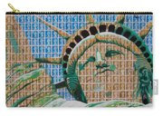 Stampue Of Liberty Carry-all Pouch