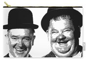 Stan And Ollie - Parallel Hatching Carry-all Pouch