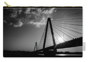Stan Musial Bridge St Louis Mo Black And White_dsc4591_16_65 Carry-all Pouch