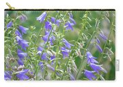 Stand Of Bluebells Carry-all Pouch by Barbara St Jean