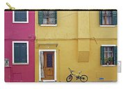 Standing By For A Quick Get Away In Burano Italy Carry-all Pouch