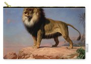 Standing Lion Carry-all Pouch