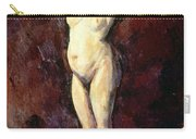 Standing Nude Woman Carry-all Pouch