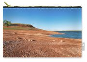 Standing On The Lakebed Carry-all Pouch
