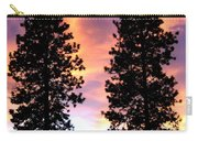 Standing Tall At Sundown Carry-all Pouch