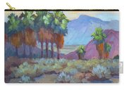 Standing Tall At Thousand Palms Carry-all Pouch