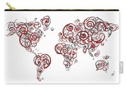 Stanford University Colors Swirl Map Of The World Atlas Carry-all Pouch