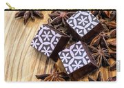 Star Anise Chocolate Carry-all Pouch