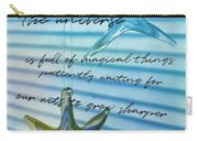 Star Bright Quote Carry-all Pouch