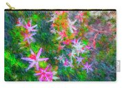 Star Flowers Shine Carry-all Pouch
