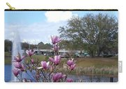 Star Magnolia Blooms Carry-all Pouch