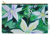 Star Of The Garden Carry-all Pouch