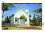 Star Of The Sea Painted Church Carry-all Pouch
