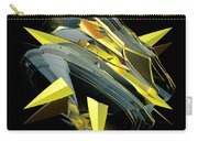 Star Of Yellow Carry-all Pouch