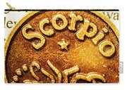 Star Sign In Scorpio Carry-all Pouch